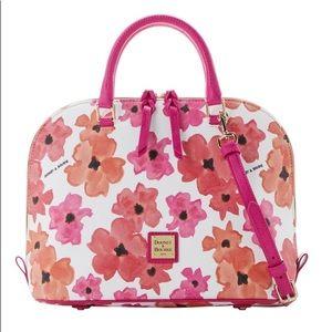 Dooney & Bourke Bloom ZIP ZIP Satchel Bag w/strap
